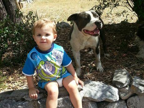 Cyris and Angus Leed's son Tyler.