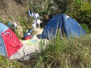 Illegal campsite dilemma as calls come for removal