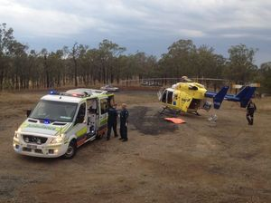RACQ Careflight rescue mission