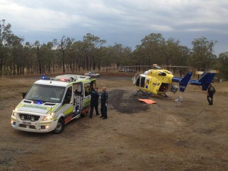 Photo courtesy RACQ CareFlight Rescue.