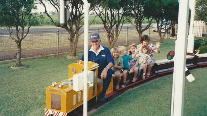 REMEMBERED: Popular railway enthusiast Bob Truscott has died. Photo Contributed