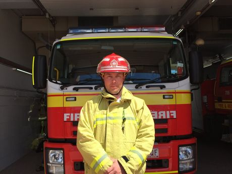 Inspector Mark Stuart shares an insight into the shed fire at Dundowran.