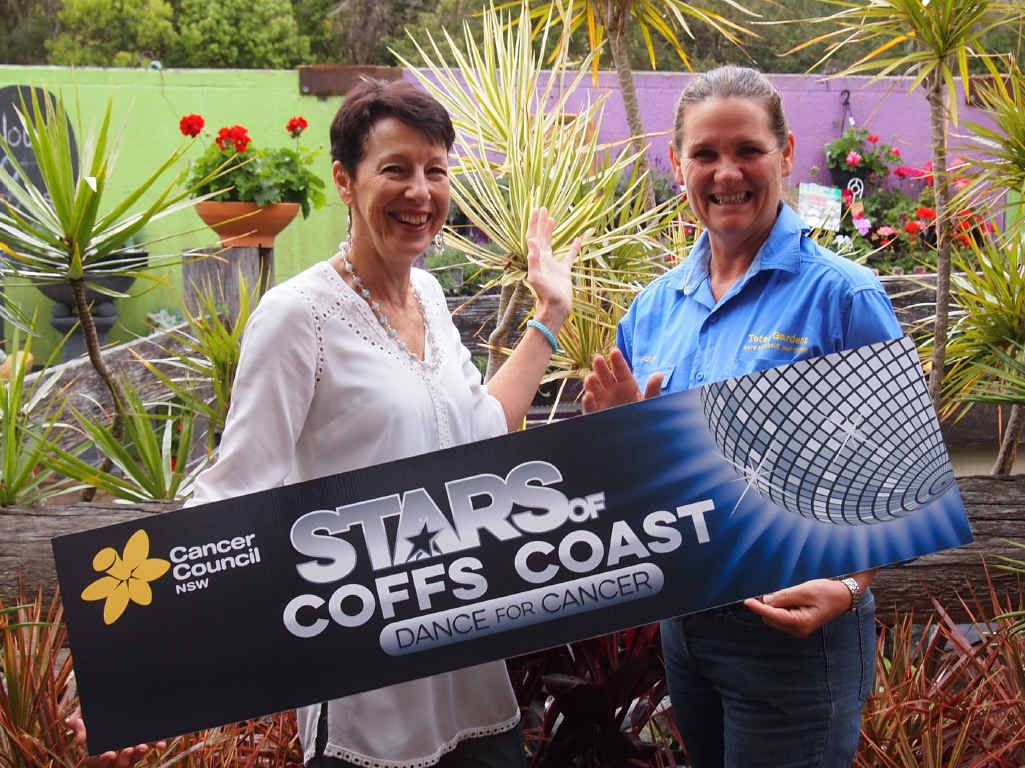 STEPPING UP: Local nurse Lee Millard Newton is hosting a garden party fundraiser in the lead up to the annual Stars of Coffs Coast Dance for Cancer Challenge.