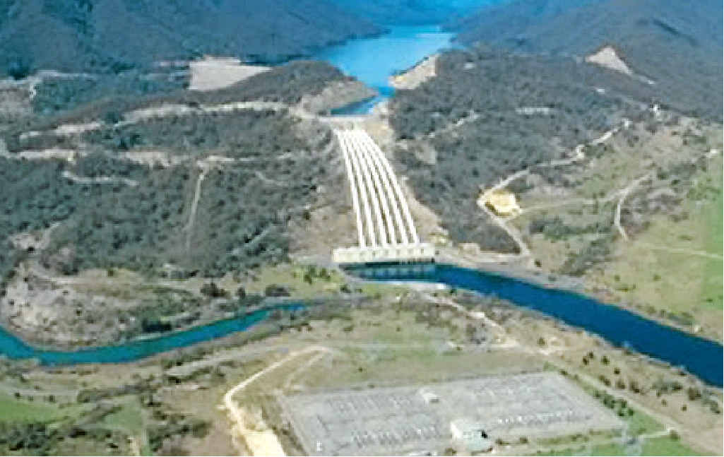 Undated photo made available 19 February 2006 shows an aerial shot of Tumut 3 power station part of the Snowy Mountains hydro electric scheme known as Snowy Hydro.
