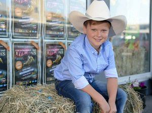 Mitch buckles up for Rockhampton PBR at Browne Park