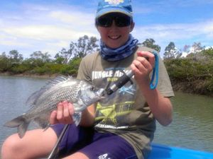 FISHING TAILS: Sheltered spots the best option due to winds