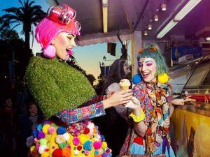 Rockhampton designer shows colourful mind