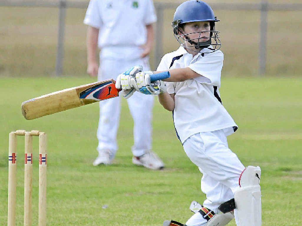 DOWNS TEAM: Wicketkeeper/batsman Pat Gordon is one of two Warwick players in 12 years regional cricket teams.