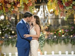 Bachelor no more: Sam Wood proposes to Snezana
