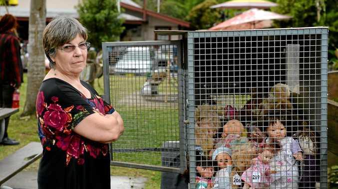 IN ASYLUM: Uki resdient Heather McClelland believes refugee children need their freedom.