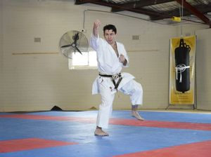 Legally blind world karate champion doing Lismore workshops
