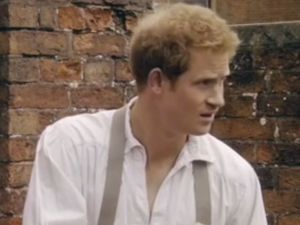 Prince Harry plays gardener in Rugby World Cup opener