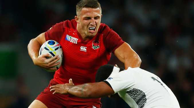 Sam Burgess is rumoured to be heading back to NRL.