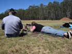 Love kept in gun sights as married couple take to the range