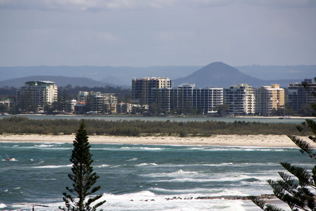 Golden Beach at Caloundra on the Sunshine Coast was the scene of the attacks.