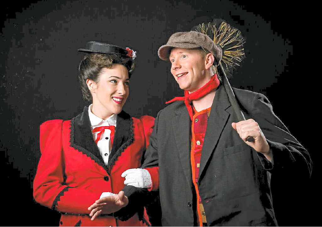 TOP SHOW: A largely local cast stars in Ipswich Musical Theatre Company's production of Mary Poppins.