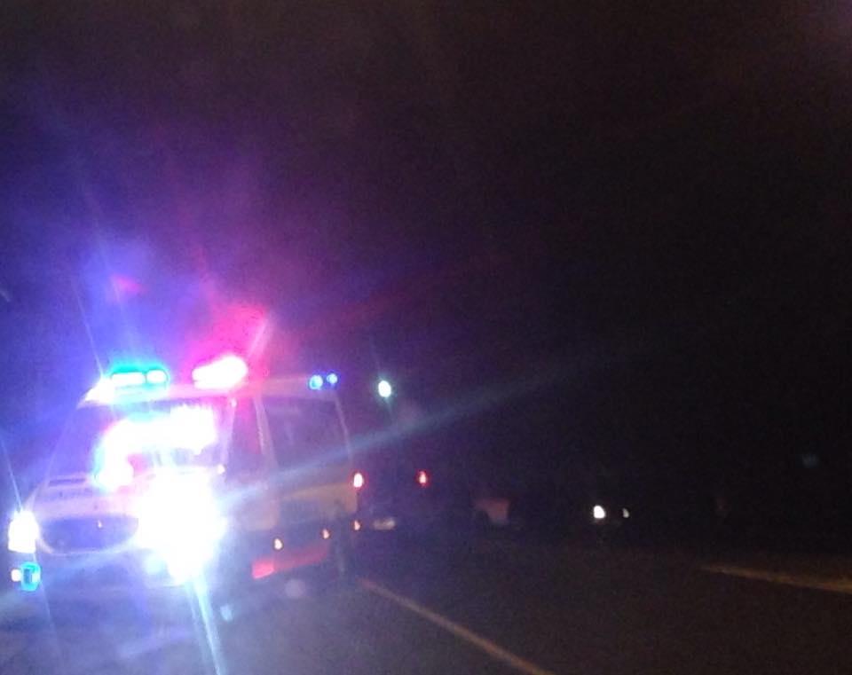 Crews tend to the crash on Barolin St.