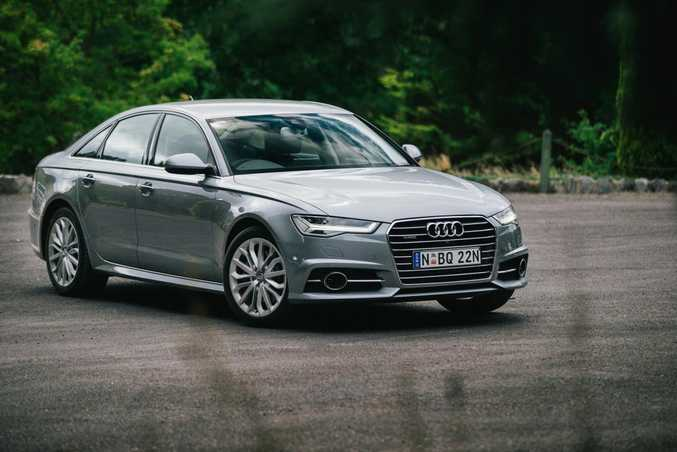 STREET SLEEPER: 2015 Audi A6 3.0 TDI S Line is a smidge under $100,000.