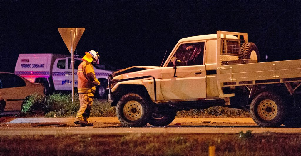 Three people died in a crash on the Warrego Hwy near Toowoomba on Friday night.