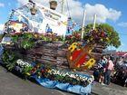 Lalang Buagas Notap: The pirate ship.