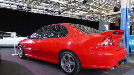 VX Commodore at a gathering of every variant of Holden Commodore at the Holden plant in Port Melbourne. Photo: Iain Curry / Sunshine Coast Daily