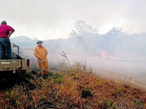 Volunteer fire fighters copping abuse while protecting homes