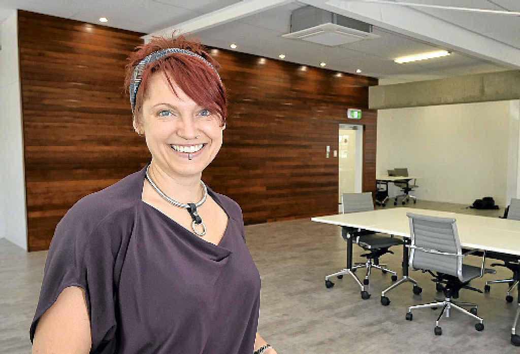 NEW APPROACH: At Maroochydore's newest co-working space, Michi Tyson will hold a meetup for businesses to learn how to be more