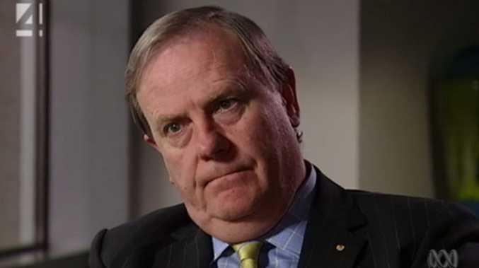 Former Treasurer Peter Costello