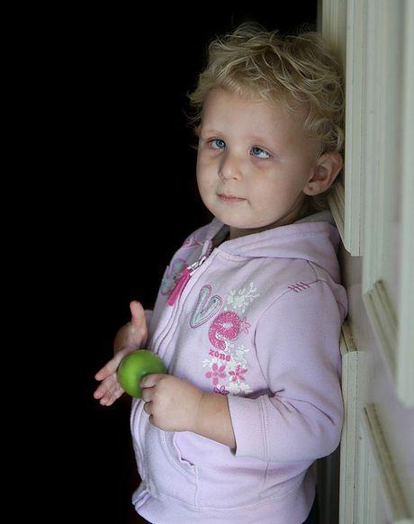 BATTLER: Lilly Crosswell in 2010.