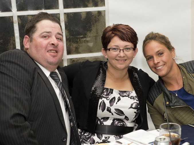 Pat and Renea Lenihan with Meghann Gestain
