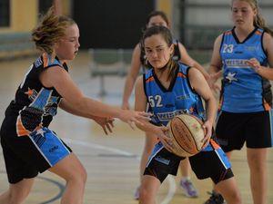 Junior basketballers hit the court in Mackay
