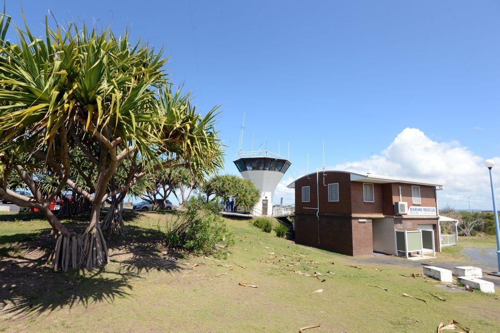 The Ballina Marine Rescue Tower.