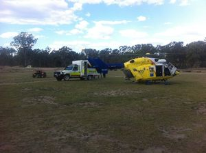 Man airlifted after quad bike accident in Boondooma