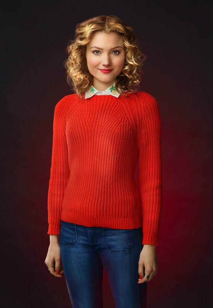 Skyler Samuels stars as Grace Gardner in Scream Queens.