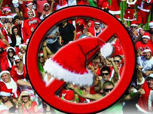 Police shut down this year's Grafton Santa Crawl