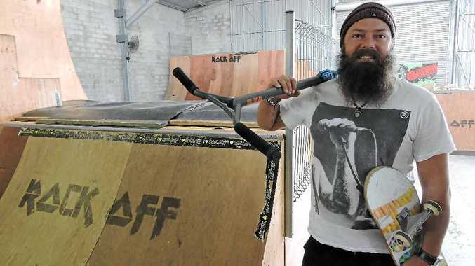 STOKED: Rock Off Indoor Skate Park owner Tim Earle is excited to host a regional qualifier.