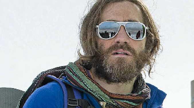 TRUE STORY: Jake Gyllenhaal in a scene from the movie Everest.