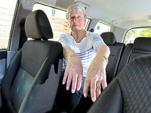 Rings lost while helping elderly woman find lost keys