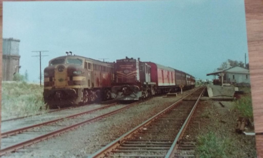 DIESEL POWER: The railway line to Byron Bay and beyond through Ocean Shores and Stokers siding was  first opened in 1894. The last train rolled south on May 16 2004 much to the fury of locals, many of whom still call for the lines reinstatement.