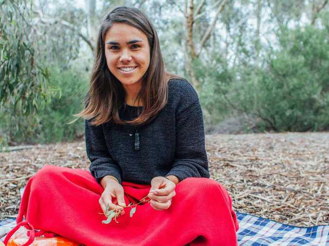 TAKING ACTION: Bundjalung woman Amelia Telford is the Environmentalist of the Year.