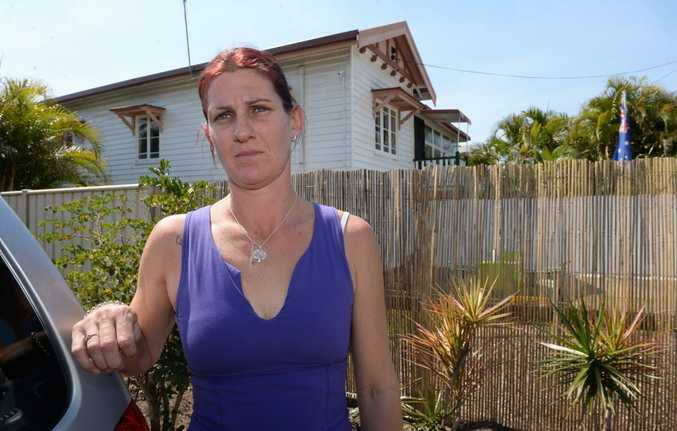 SURVEILLANCE: Renee Pollitt is concerned about her neighbour's security cameras which overlook her back and front yard. Photo: Mike Knott / NewsMail