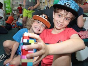 Lego session at Emu Park Library