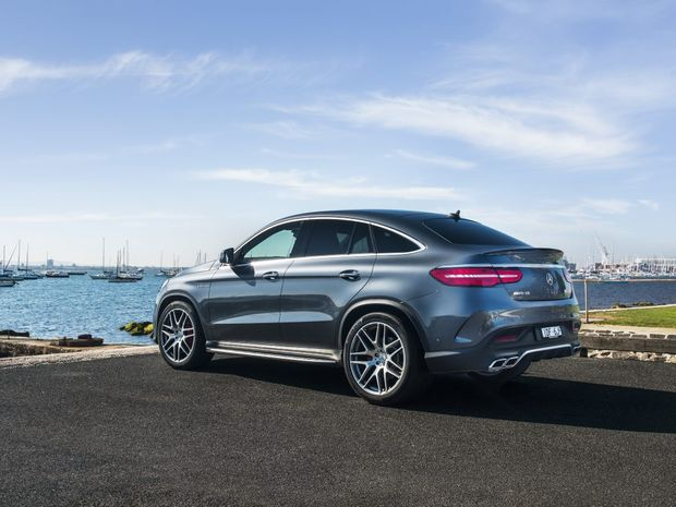 BUM LOOK  BIG? Styling isn't to everyone's taste, but the GLE Coupe will certainly get you noticed