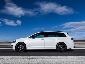 VW Golf R Wagon Wolfsburg Edition review