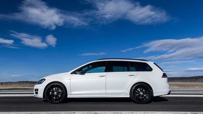 FUN FOR LONGER: Quite brilliant Golf R engine and chassis now with extra wagon room. A superb plaything for road and track for under $60k.