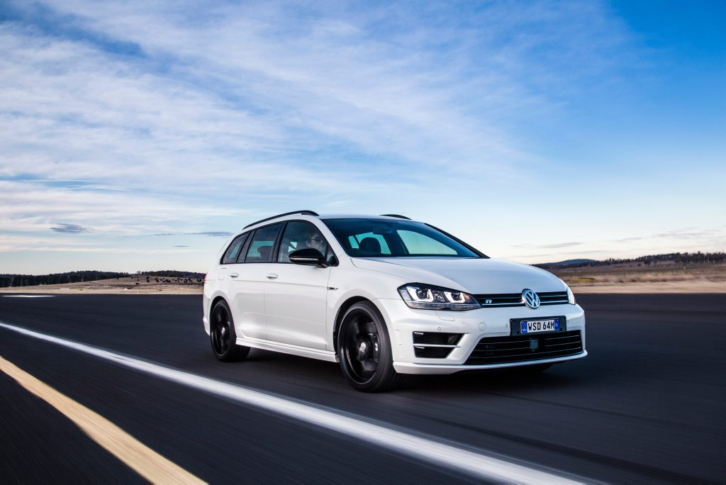 VW Golf R Wagon Wolfsburg Edition. Photo: Contributed
