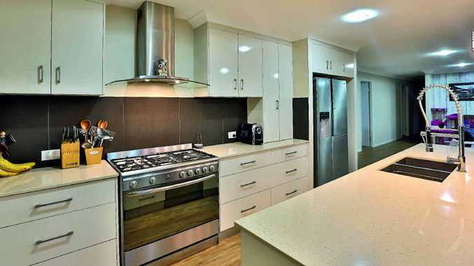 FANTASTIC: The gorgeous kitchen is well equipped and ideal for entertaining.