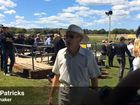 Bookmaker Bob Patricks at the 2015 Lismore Cup.