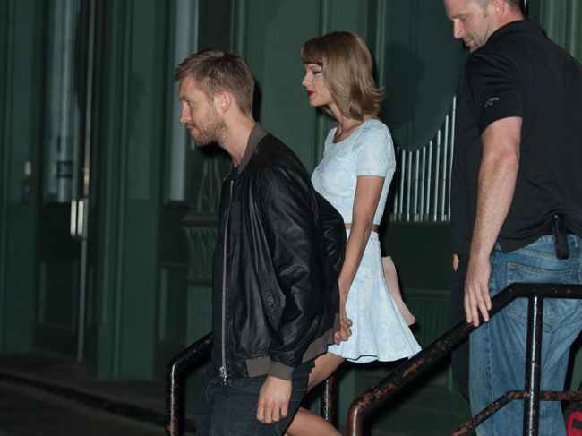 Calvin Harris with Taylor Swift