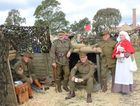 BACK IN TIME: Period re-enactments will give families a glimpse of life for men and women during the time of conflict during the Ipswich Salutes event at The Workshops Rail Museum.